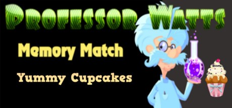 Купить Professor Watts Memory Match: Yummy Cupcakes