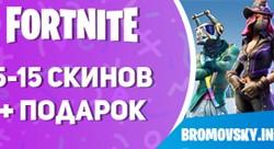 Fortnite 5-15 скинов + Доступ к консоли + Подарок