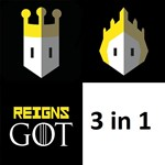 Reigns: Game of Thrones(AppStore iPhone/iPad,Apple IOS)