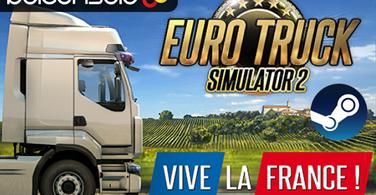 Купить лицензионный ключ 🔶Euro Truck Simulator 2 Vive la France DLC Официально на SteamNinja.ru