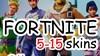 Купить аккаунт FORTNITE |5-15 PVP СКИНОВ |CASHBACK| ГАРАНТИЯ на SteamNinja.ru