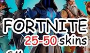 Купить аккаунт FORTNITE  25-50 PVP СКИНОВ  CASHBACK  ГАРАНТИЯ на Origin-Sell.com