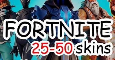 Купить аккаунт FORTNITE |25-50 PVP СКИНОВ |CASHBACK| ГАРАНТИЯ на Origin-Sell.com