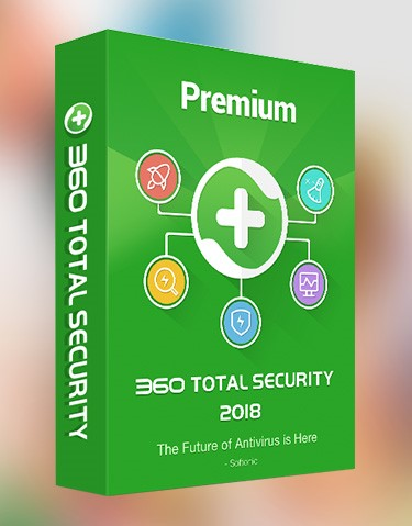 Total 360 Security Premium 1 год 5 PC Global