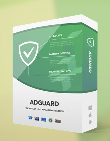 AdGuard 1 год 3 ПК для Windows + 3 mobile