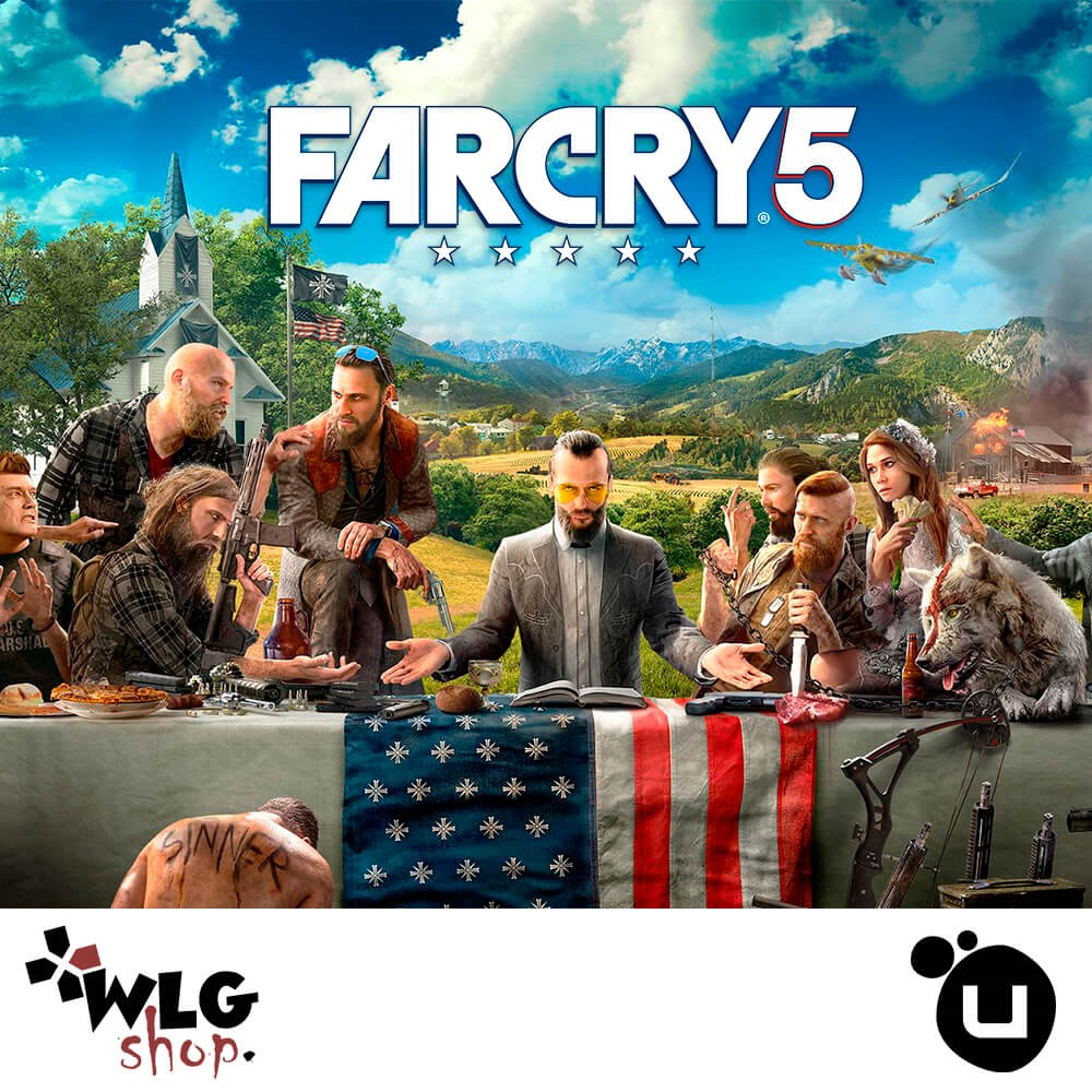 Купить FAR CRY 5 | REGION FREE | CASHBACK | UPLAY