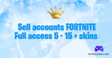 Купить аккаунт Fortnite 5 - 15 + скинов + Полный доступ + Почта на SteamNinja.ru