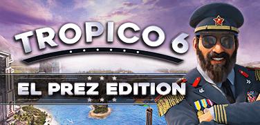 Купить лицензионный ключ Tropico 6 El-Prez Edition. STEAM-ключ (RU+СНГ) на SteamNinja.ru
