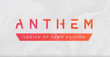 Купить аккаунт Anthem Legion of Dawn | Origin | Гарантия | Подарки на SteamNinja.ru