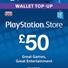 PLAYSTATION NETWORK (PSN) - 50 GBP (UK)  СКИДКИ