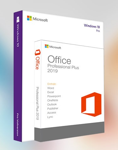Windows 10 Pro + Office 2019 Pro Plus (x32-x64)