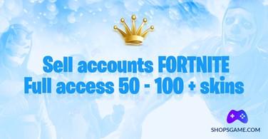 Купить аккаунт Fortnite 50 - 100 + скинов + Полный доступ + Почта на Origin-Sell.com
