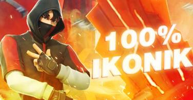 Купить аккаунт Fortnite   IKONIK 100%   ПОДАРОК   ГАРАНТИЯ на SteamNinja.ru