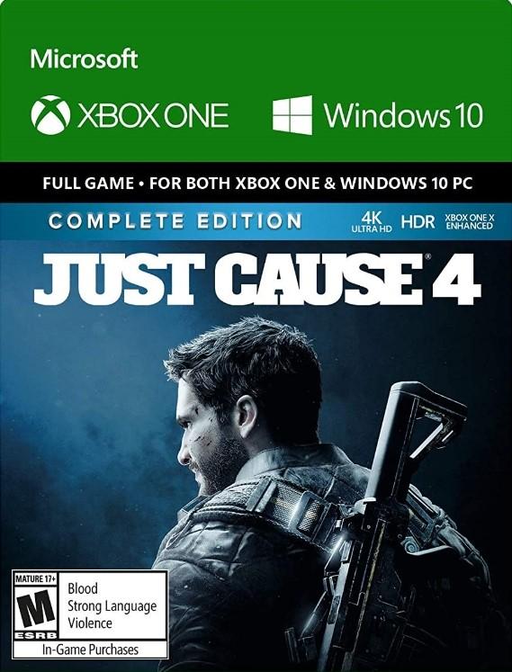 Just Cause 4 - Полное издание XBOX ONE РУС (CODE)