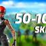 Fortnite  50-100 SKINS| PAYPAL | RARE | 10% CASHBACK
