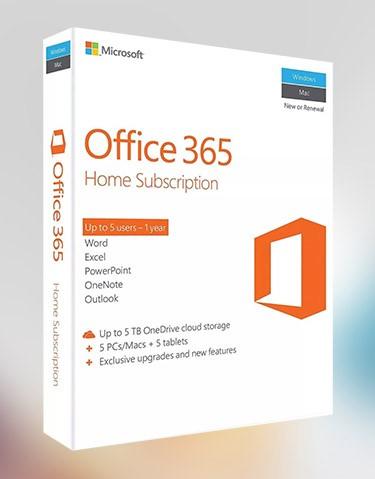 Купить Office 365 1PC/Mac 1 год. 1ТБ ключ активация подписка