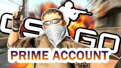 CS:GO + до 100 часов в игре + Prime