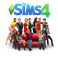 Sims 4 + дополнения+каталоги (26+ dlc)