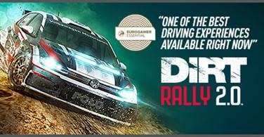 Купить лицензионный ключ Dirt Rally 2.0. STEAM-ключ (RU+СНГ) на SteamNinja.ru