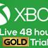 Xbox Live Gold 48 часов (Trial)+ Подарок