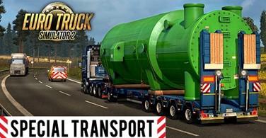 Купить лицензионный ключ Euro Truck Simulator 2 – Special Transport Ключ Steam на SteamNinja.ru