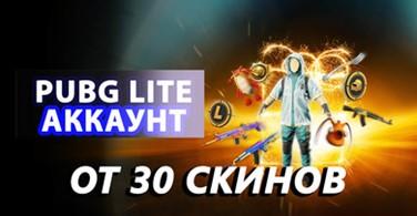 Купить аккаунт Аккаунт PUBG LITE от 30 скин на SteamNinja.ru