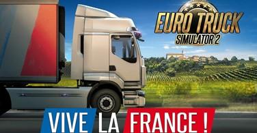 Купить лицензионный ключ Euro Truck Simulator 2 - Vive la France! (Steam) RU/CIS на SteamNinja.ru