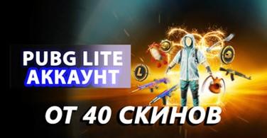 Купить аккаунт Аккаунт PUBG LITE от 40 скин на SteamNinja.ru