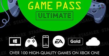 Купить лицензионный ключ XBOX GAME PASS ULTIMATE 14 Дней + EA PLAY + 1 Месяц*🌎 на SteamNinja.ru