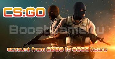 Купить аккаунт CS:GO аккаунт 🔥 от 2000 до 3000 часов ✅ + Родная почта на SteamNinja.ru