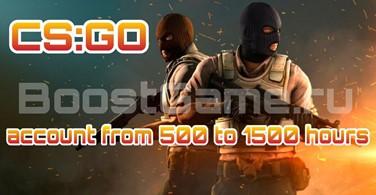 Купить аккаунт CS:GO аккаунт 🔥 от 500 до 1500 часов ✅ + Родная почта на SteamNinja.ru