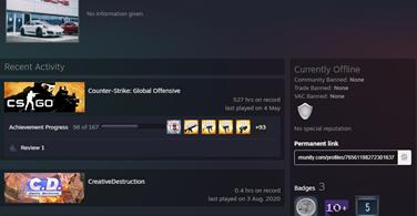Купить аккаунт CS:GO - РАНГ ЛЕМ ⭐ Полный Доступ ❤️ 200 ЧАСОВ на SteamNinja.ru
