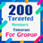 200 Target Members (Group)