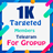 1000 Target Members (For Group)