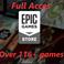 Аккаунт Epicgames store со всеми (170+) играми с раздач