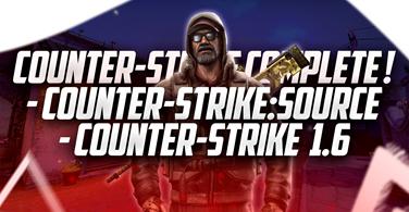 Купить лицензионный ключ Counter-Strike Complete (CS Source + CS 1.6) RU+CiS на SteamNinja.ru
