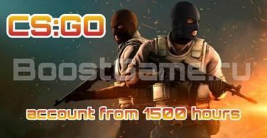 Купить аккаунт CS:GO аккаунт 🔥 от 1500 до 2500 часов ✅ + Родная почта на SteamNinja.ru