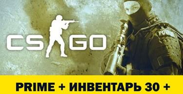Купить аккаунт CS : GO PRIME с инвентарём до 30 + (КС ГО ПРАЙМ) на SteamNinja.ru
