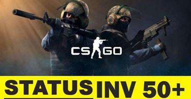 Купить аккаунт Counter Strike Global Offensive (CS : GO) с инв. 50+ на SteamNinja.ru