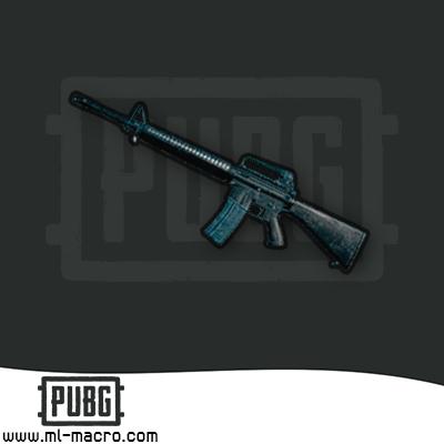 Макрос на M16A4 (Mutant) для игры PUBG (v6.3.6 Up. 5.1)