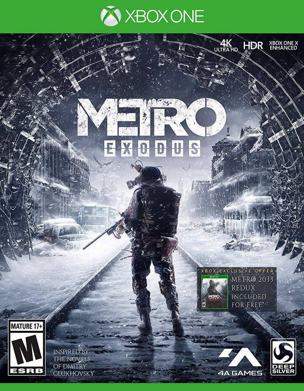 Metro Exodus (XBOX ONE) ПОЖИЗНЕННАЯ ГАРАНТИЯ🔥