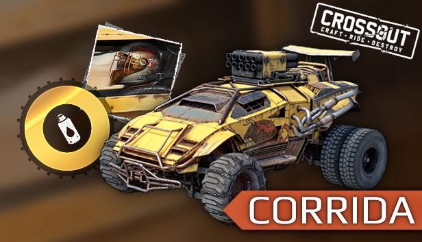 Crossout - Corrida Pack Steam RU UA CIS