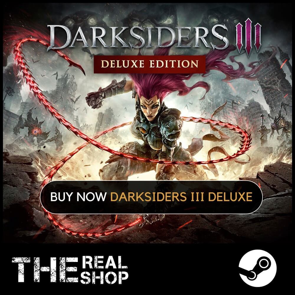 Darksiders III Deluxe | OFFLINE |REG FREE| STEAM ✅