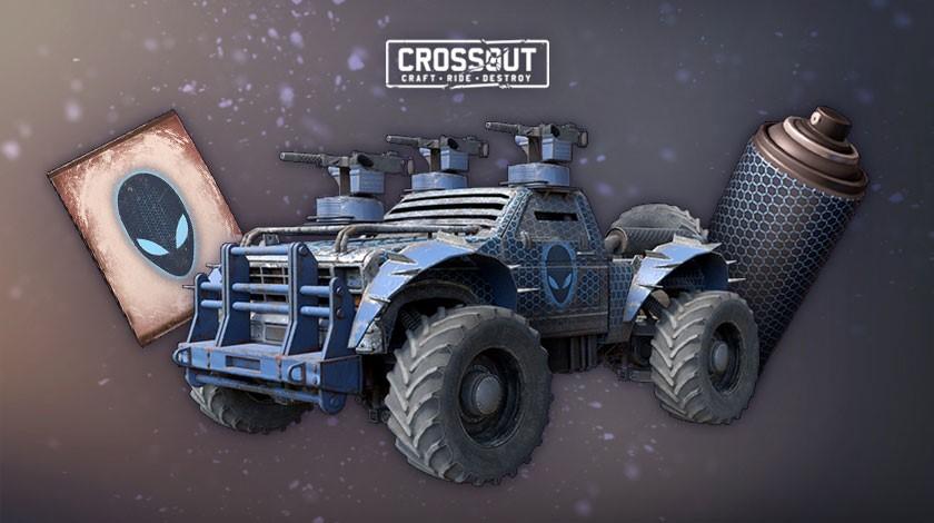Crossout Alien Starter Pack - Region free PC/PS4/Xbox