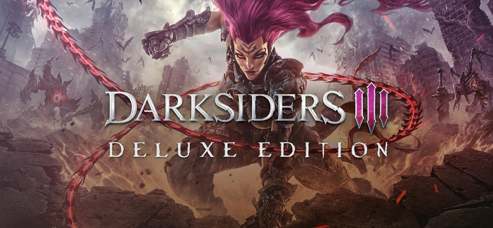 Darksiders III Deluxe Edition (Steam Gift RU)
