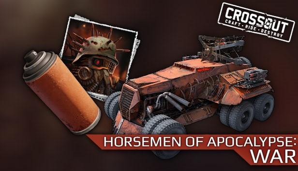 Crossout - Horsemen of Apocalypse: War Steam RU KZ CIS