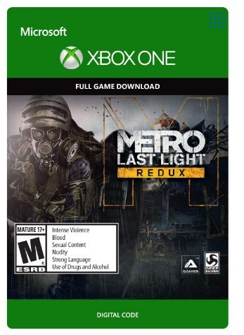Metro: Last Light Redux (XBOX ONE) Free Region