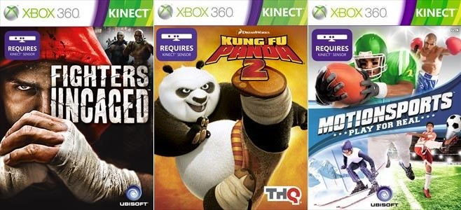Motionsports , Fighters Uncaged для Xbox 360 Kinect
