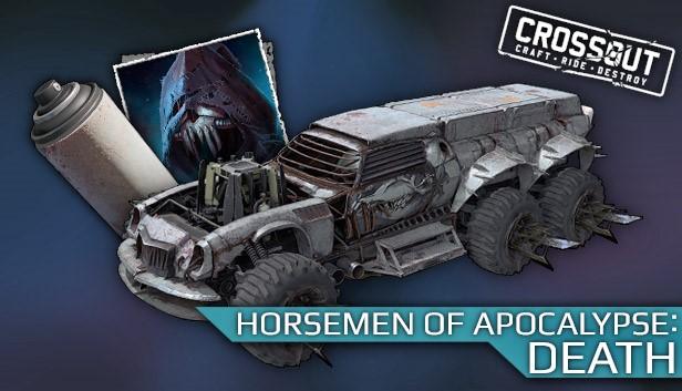 Crossout - Horsemen of Apocalypse: Death Steam RU KZ CIS