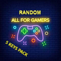RANDOM Steam ПАК из 5 ключей (Region FREE)